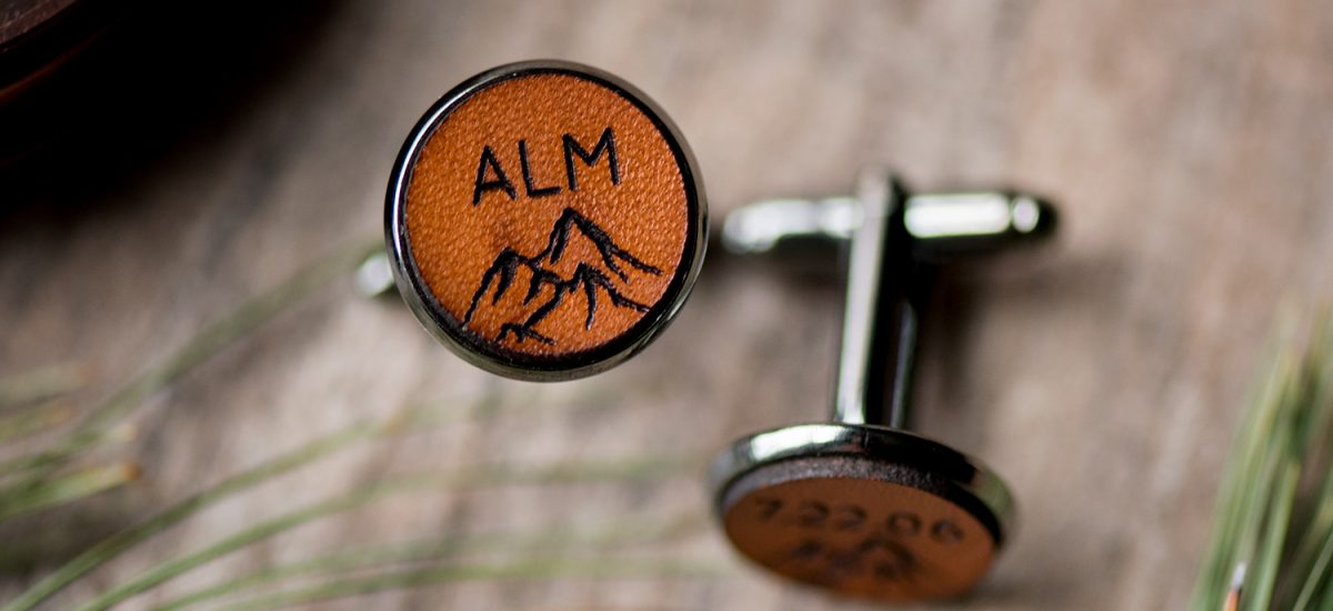 Custom Antler Cufflinks