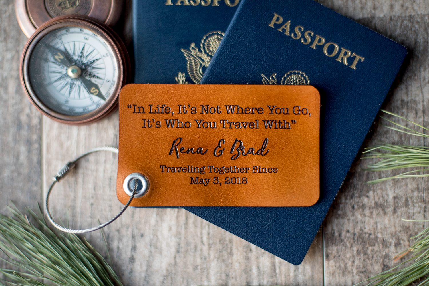 Custom Leather Luggage Tags – The beginning